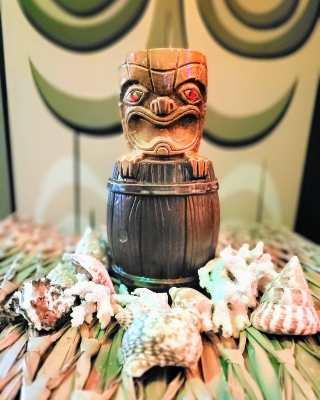 Stowaway Bar's First Tiki Mug