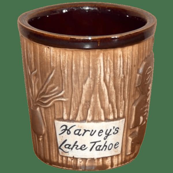 Back - Harvey's Lake Tahoe Bucket Mug - Harvey's Top of the Wheel - Open Edition
