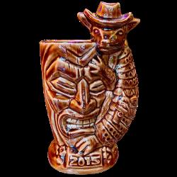 Front - Armadillo Mug (2015 Mug) - Texas Tiki Week - Limited Edition