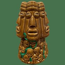 Front - Maori Skull House Mug - Shameful Tiki Room - Open Edition