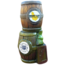 Front - Mount Gay Stacked Rum Barrel - Tiki Diablo - 1st Edition