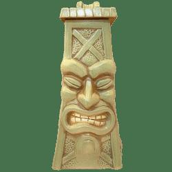 Front - Oil Derrick Mug (2017 Mug) - Texas Tiki Week - Green Edition