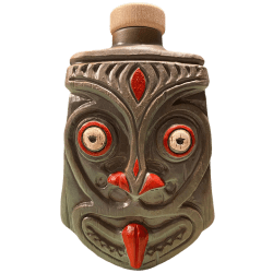 Front - Rhum Smuggler Flask - Tiki Diablo - 1st Edition