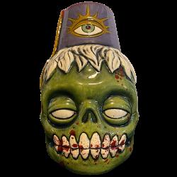 Front - Zombie Fez - Biggs Tiki - Deluxe Purple Gore Edition