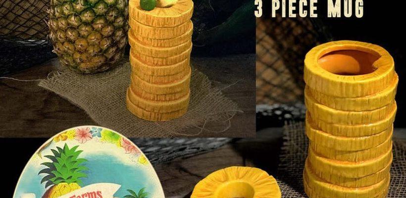 Home Aloha Pineapple Mug 2nd Edition
