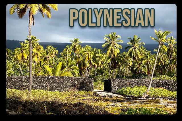 Polynesian Mugs