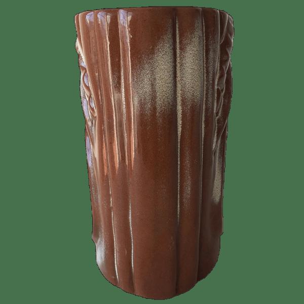 Back - Frankoma War God - Cultured Pearl - Brown Satin Edition