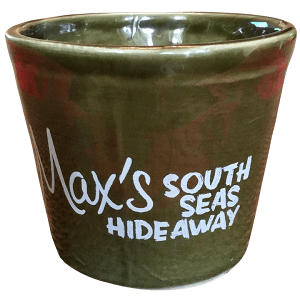 Back - London Luau Ku Mug - Max's South Seas Hideaway - Open Edition