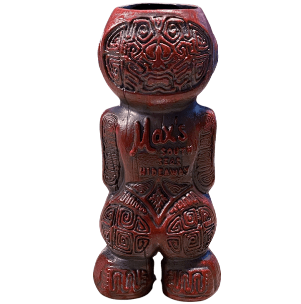 Back - Max's Mo'orean Marquesan - Max's South Seas Hideaway - 1st Edition