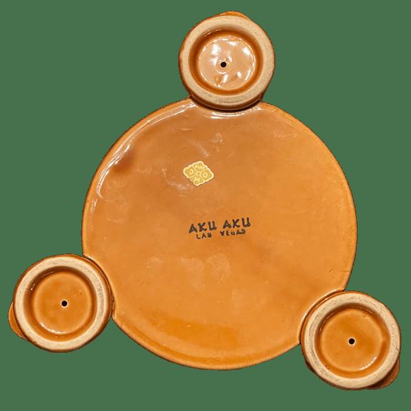 Back - Three Moai Bowl - Aku Aku at the Stardust Casino - Open Edition