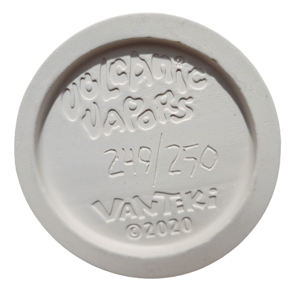 Bottom - Volcanic Vapors - VanTiki - White Top and BottomSulfuric Green Edition