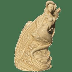 Front - Ariel (The Little Mermaid) Tiki Mug - Mondo - Sand Variant