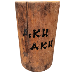Front - Authentic Bamboo Mug - Aku Aku at the Stardust Casino - Open Edition