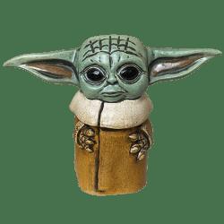 Front - Baby Yoda (Grogu) - TikiRob - Limited Edition