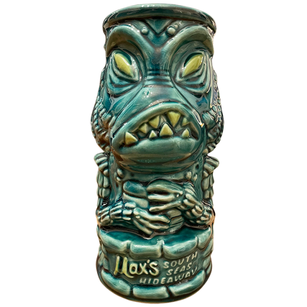 Front - Creature Feature - Max's South Seas Hideaway - Blue Edition
