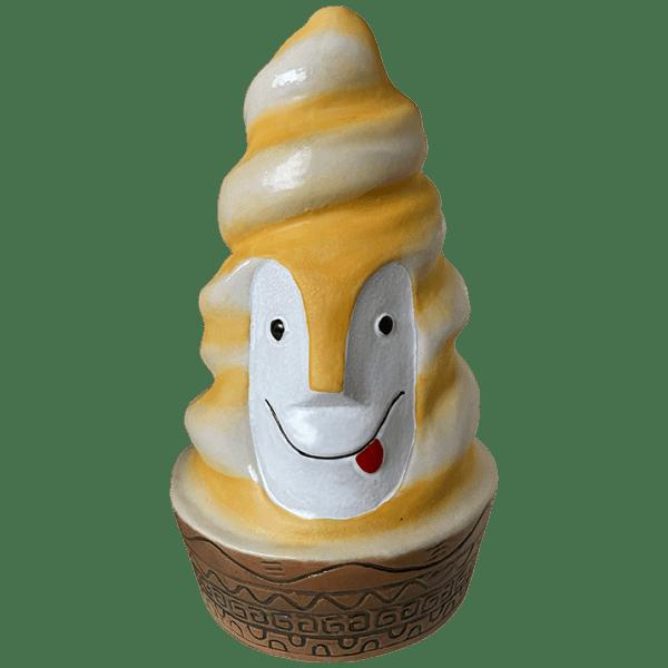 Front - Swirly Bob - Lost Temple Traders - Orange Swirl Edition