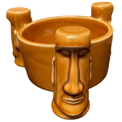 Front - Three Moai Bowl - Aku Aku at the Stardust Casino - Open Edition