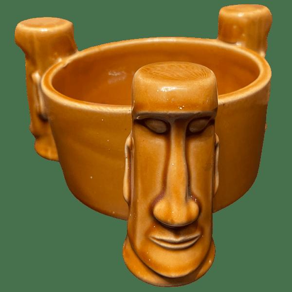 Front - Three Moai Bowl - Aku Aku at the Stardust Casino - Open Edition