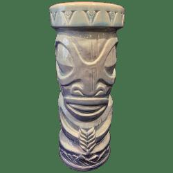 Front - Tiki Mug - Virginia Distillery - Blue Edition