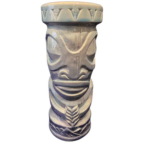 Front - Tiki Mug - Virginia Distillery - Blue Edition