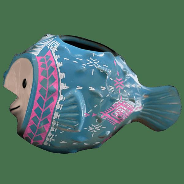Side - Gecko'z Fugu (Puffer Fish) Bob - South Sea Arts - Limited Edition