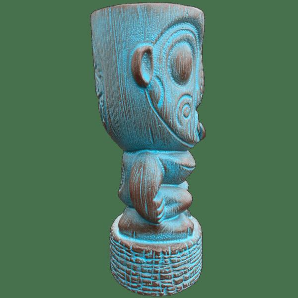 Side - Papua New Guinea 2.0 Tiki Mug - Munktiki - Teal Editio