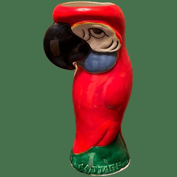 Side - Parrot Mug - Hawaiian Cottage - Open Edition