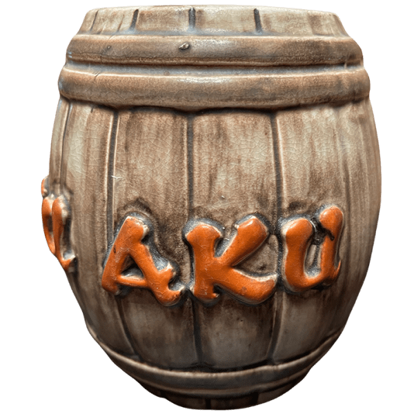 Side - Rum Barrel - Aku Aku - Open Edition