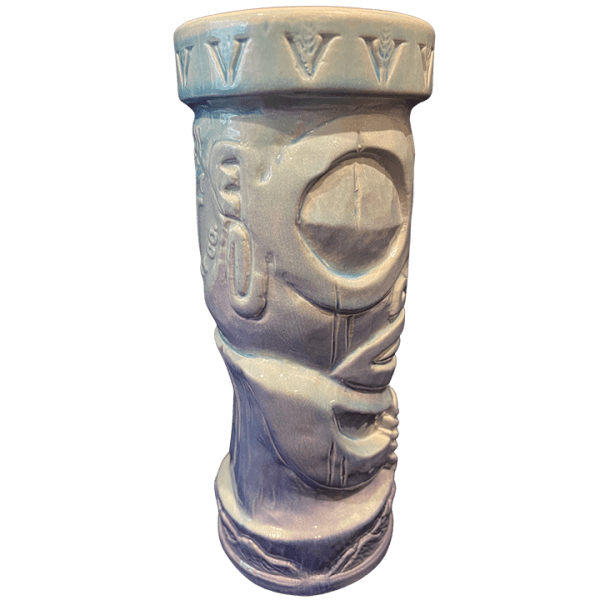 Side - Tiki Mug - Virginia Distillery - Blue Edition