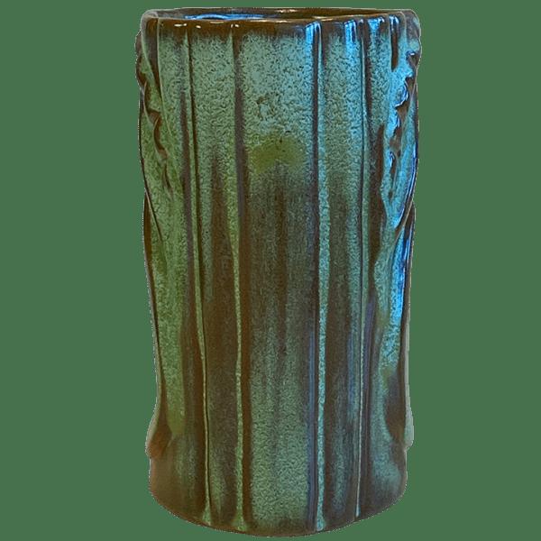 Back - Frankoma War God - Frankoma Pottery - T3S Prairie Green Edition
