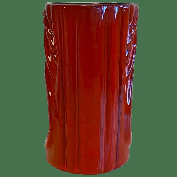 Back - Frankoma War God - Sapulpa Oklahoma Rotary Club Sweetheat Luau - T3S FlameCoffee Edition