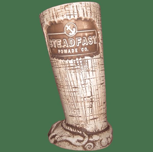 Back - Scrimshaw Mug - Steadfast Pomade Co. Desert Oasis Room - Bone White Edition