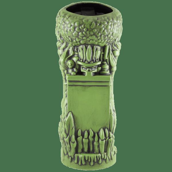 Back - Voodoo Goddess - Tiki Farm - Mardi Gras Green Edition