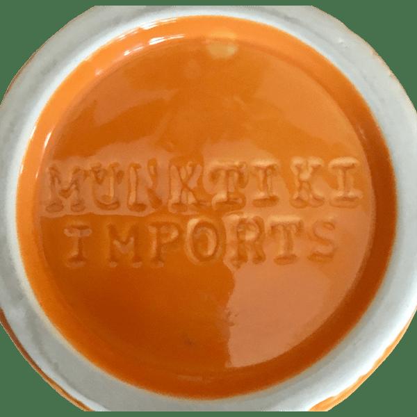 Bottom - Big Rum Barrel - Tonga Hut Palm Springs - Orange Edition