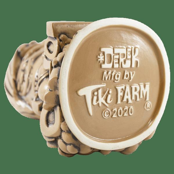 Bottom - Surf Gasser Mug - Tiki Farm - TanBrown Edition