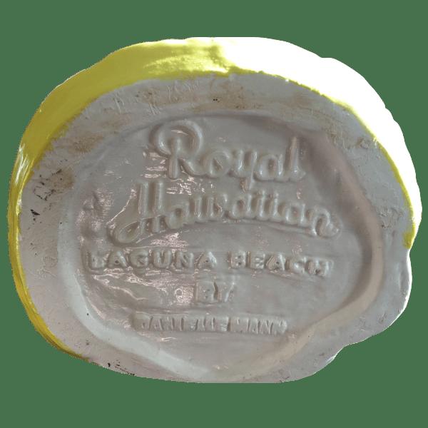 Bottom - Wahine Mug - Royal Hawaiian - 1st Edition