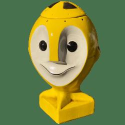 Front - Atom Bob - Coxswain Dunsel - Atomic Yellow Edition