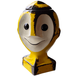 Front - Atom Bob - Coxswain Dunsel - Rusted Atomic Yellow Edition