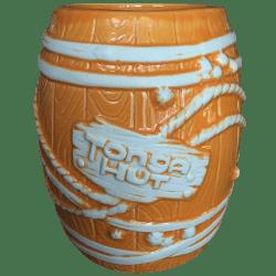 Front - Big Rum Barrel - Tonga Hut Palm Springs - Orange Edition