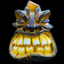 Front - Cinder Cone - VanTiki - No Mold Used