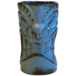 Front - Frankoma War God - Frankoma Pottery - T3S Clay Blue Edition
