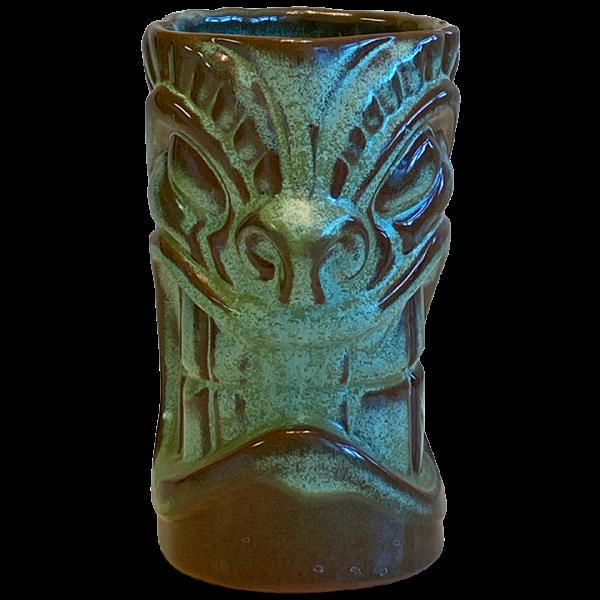 Front - Frankoma War God - Frankoma Pottery - T3S Prairie Green Edition