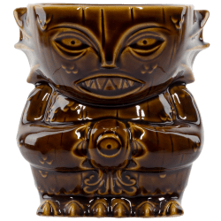 Front - Innsmouth Creep Designer Series Tiki Mug - Mondo - Primordial (Brown) Variant