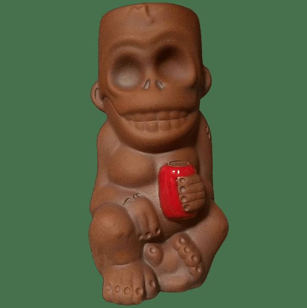 Front - Skull Monkey - Munktiki - BrownRed Edition