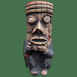 Front - Zombified Mr. Shameful Tiki Mug (5th Anniversary Mug) - Shameful Tiki Room Vancouver - Limited Edition