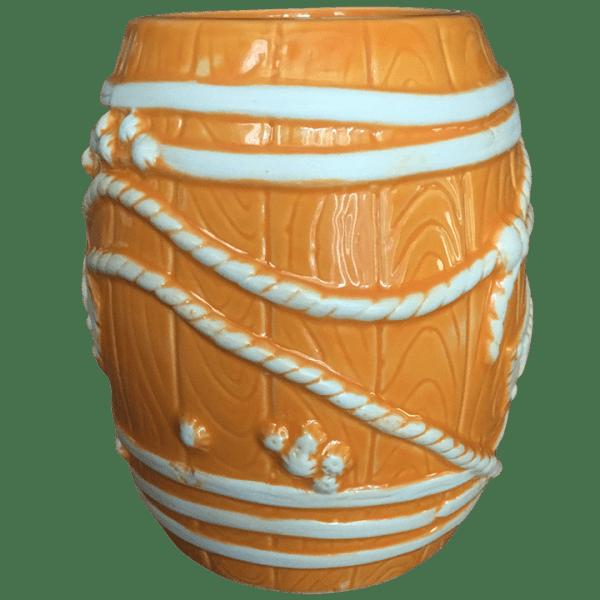Side - Big Rum Barrel - Tonga Hut Palm Springs - Orange Edition