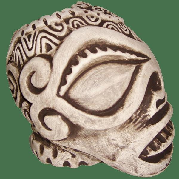 Side - Dio de la Marqueses - Tiki Diablo - Matte White Edition