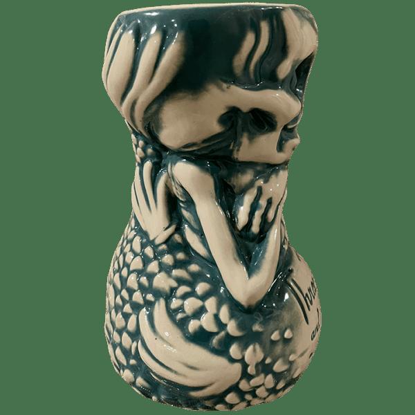 Side - Fijian Mermaid - Three Dots and a Dash - Teal Edition