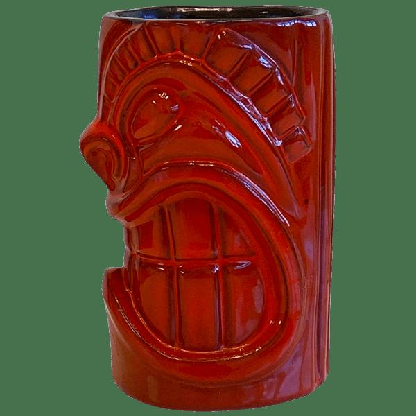 Side - Frankoma War God - Sapulpa Oklahoma Rotary Club Sweetheat Luau - T3S FlameCoffee Edition