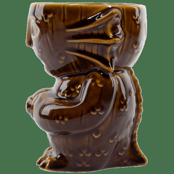 Side - Innsmouth Creep Designer Series Tiki Mug - Mondo - Primordial (Brown) Variant